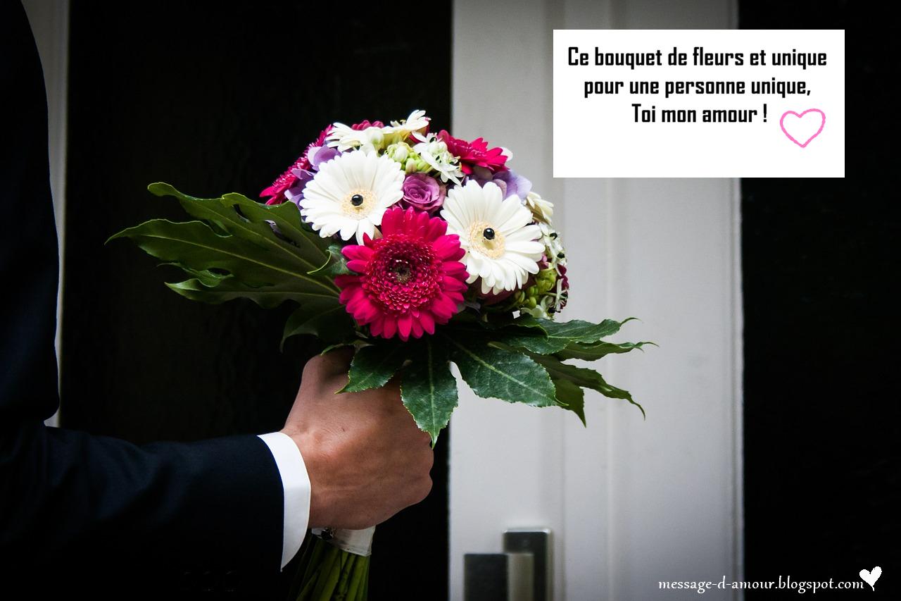 message d amour pour carte de fleurs message d 39 amour. Black Bedroom Furniture Sets. Home Design Ideas