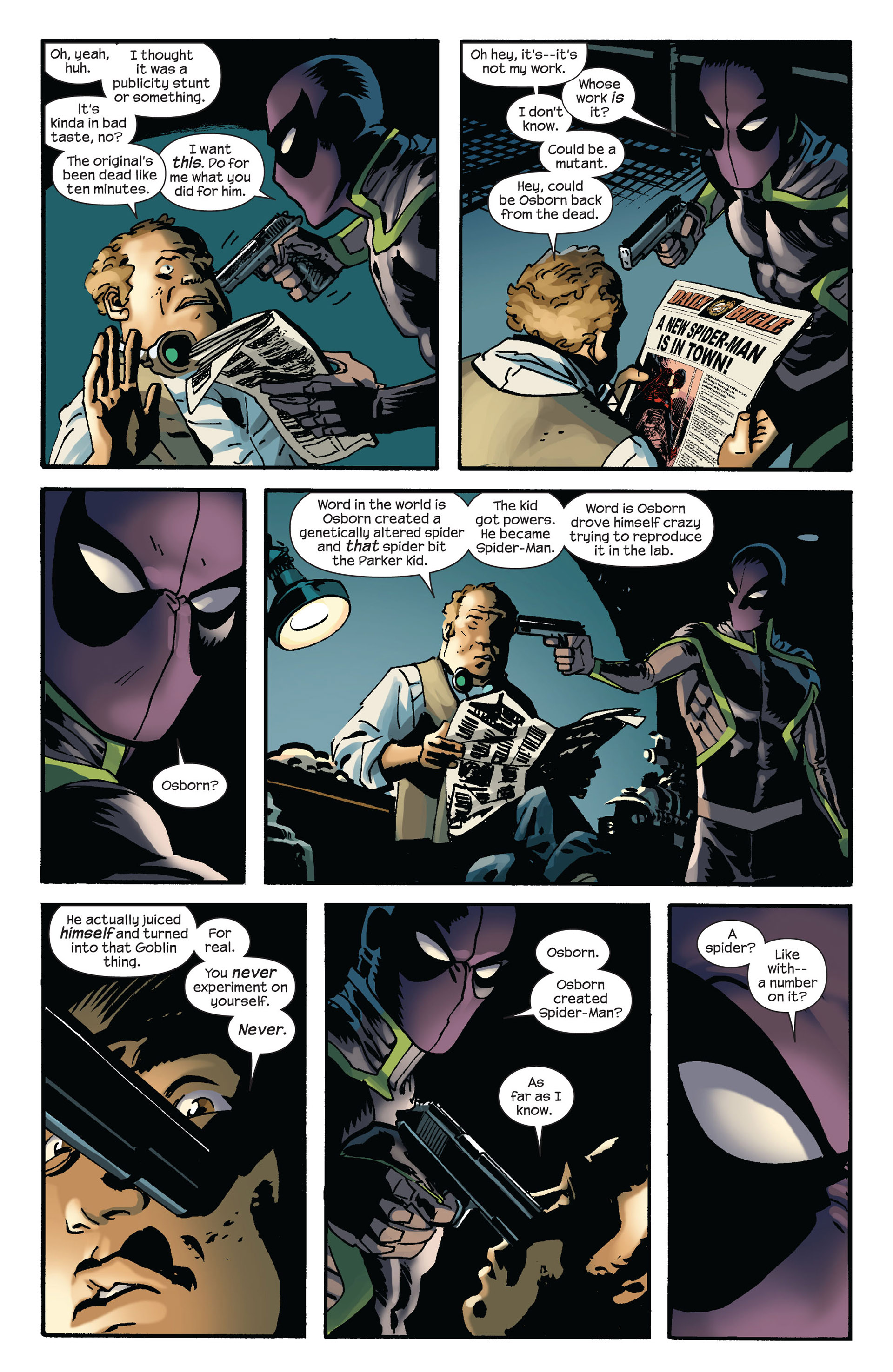 Read online Ultimate Comics Spider-Man (2011) comic -  Issue #7 - 15