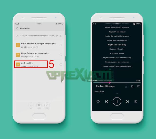 Tutorial Cara Paling Mudah Menambah Lirik Di Aplikasi Musik Xiaomi Tanpa Internet
