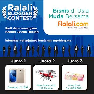 Ralali Blog Contest - Blog Mas Hendra