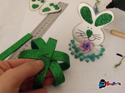 sfera in fommy per creare animali con i bambini