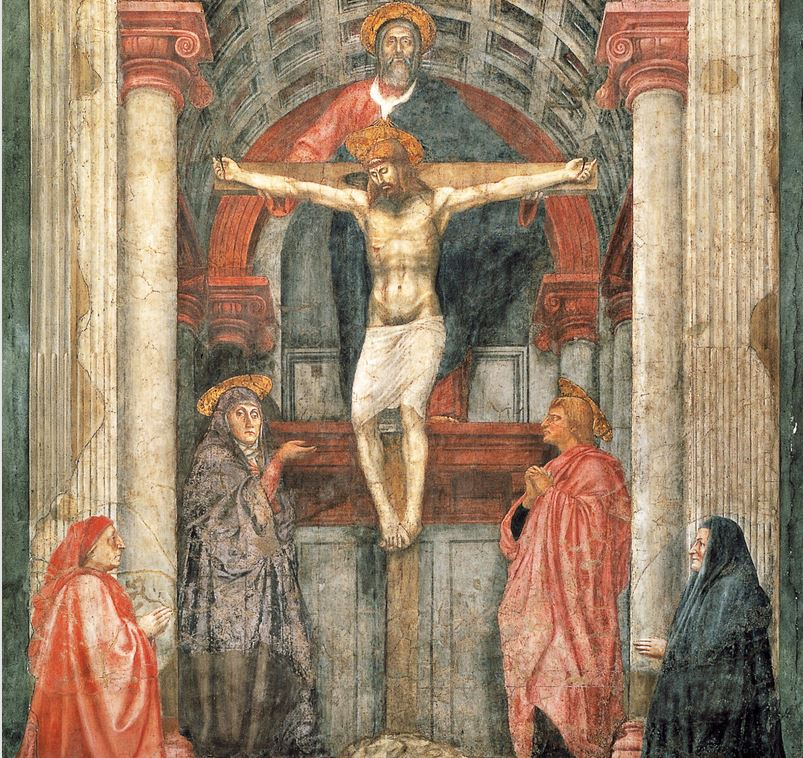 masaccio the holy trinity Choose from thousands of masaccio artworks with the option to print on canvas, acrylic,  holy trinity masaccio giclee print from $4799 $2879 view similar art.