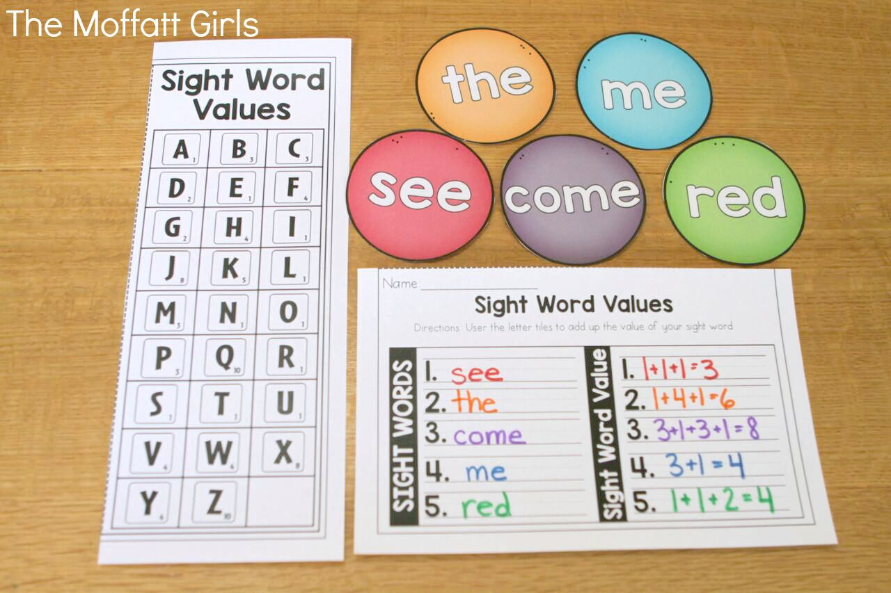 Sight Words Fun And Effective Ways To Teach Them