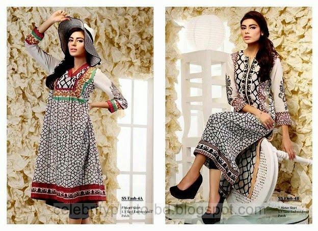 Bashir Ahmad- Printed And Embroidered Single Shirt Eid Collection 2014