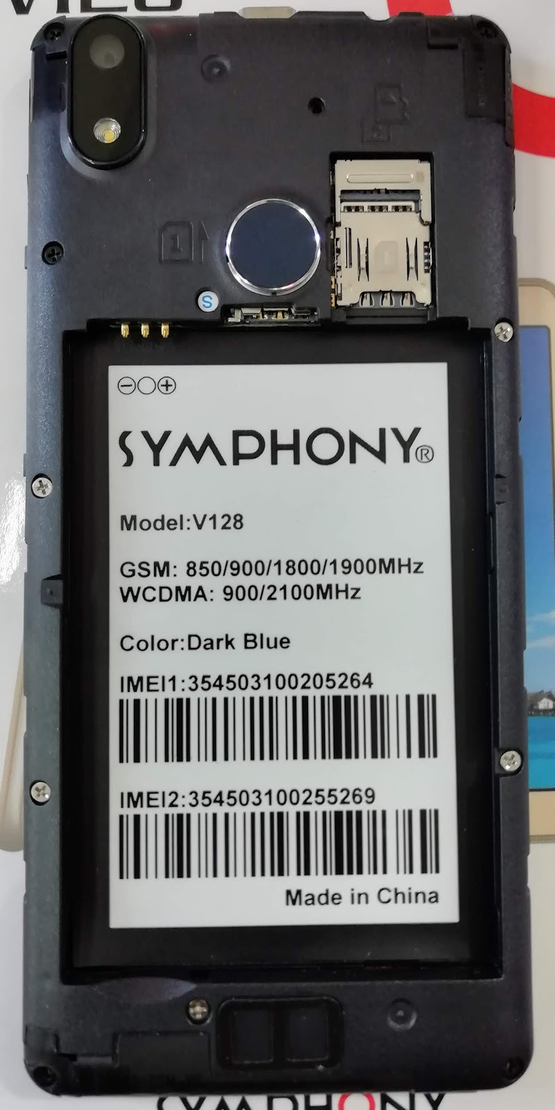 FAISAL GSM: Symphony V128 Flash File HW1_V8 Frp Fix /Dead