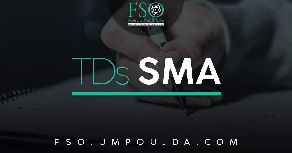 SMA S4 : TD N°1 d'Algèbre 6 2016/2017