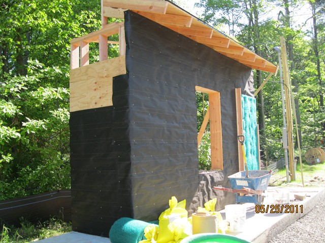Sustainable Building Construction Kec Exterior Wall Mock Up