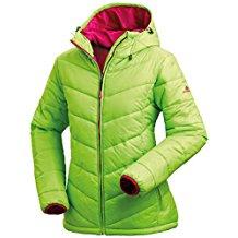 Nordcap Damen Jacke in Daunenoptik, warme Steppjacke in Grün, tolle Übergangs- & Winterjacke, 100% Wattierung (Gr: 36 - 50)