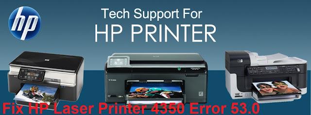Fix HP Laser Printer 4350 Error
