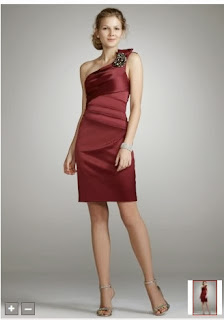 What Color Shoes Go With Burgundy Bridesmaids Dress