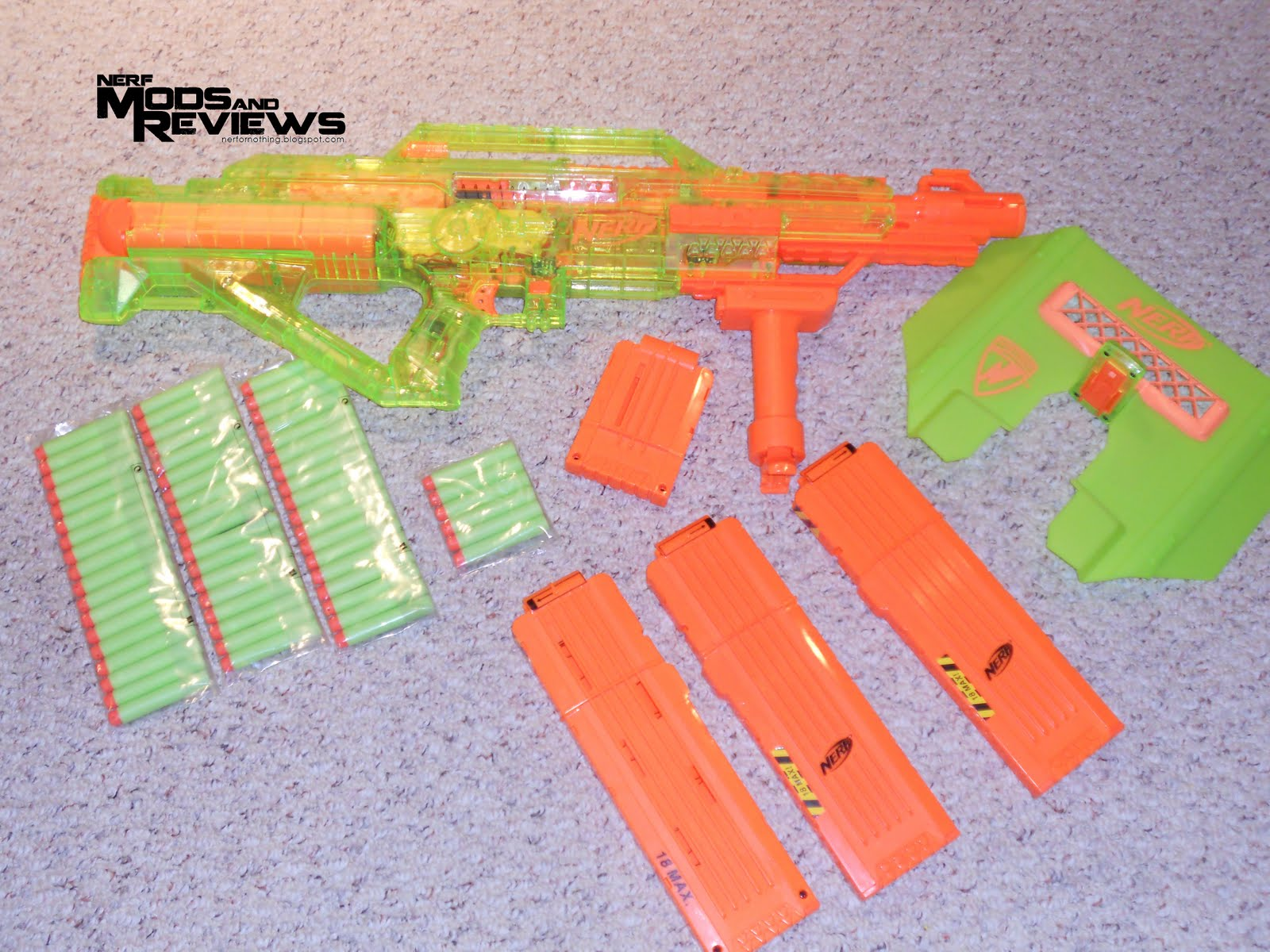 Urban Taggers Nerf Mods Amp Reviews Nerf Sonic Series