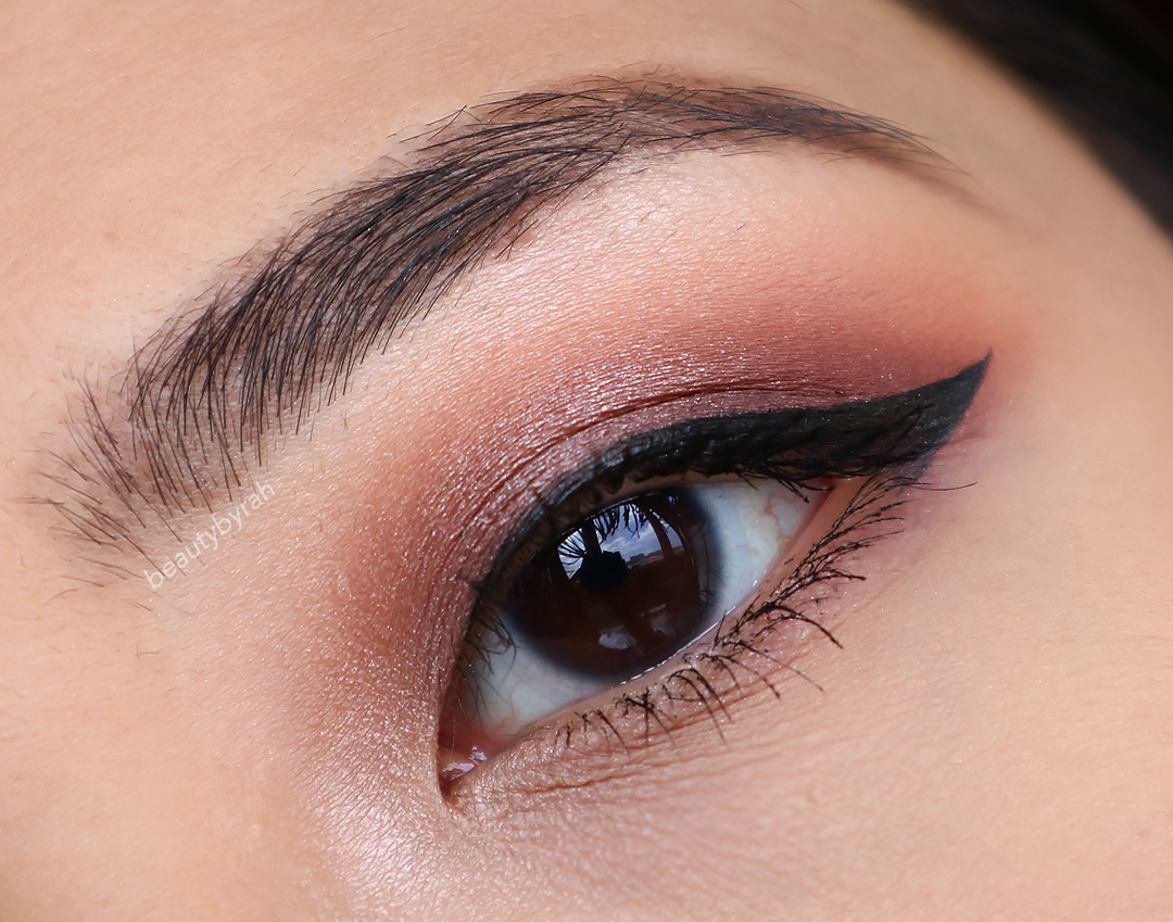 Purple Smokey Eye Pictorial using Makeup Geek Cosmetics Eyeshadows featuring Prom Night