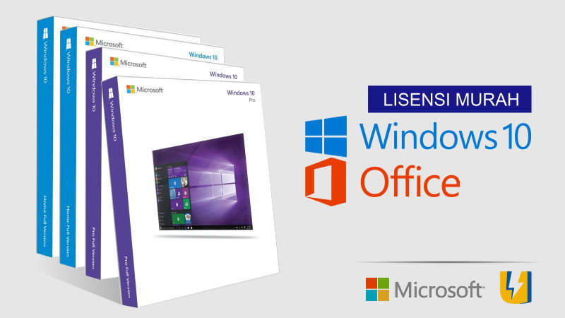 Membeli Licensi Windows 10 dan Office 2016 Murah Meriah