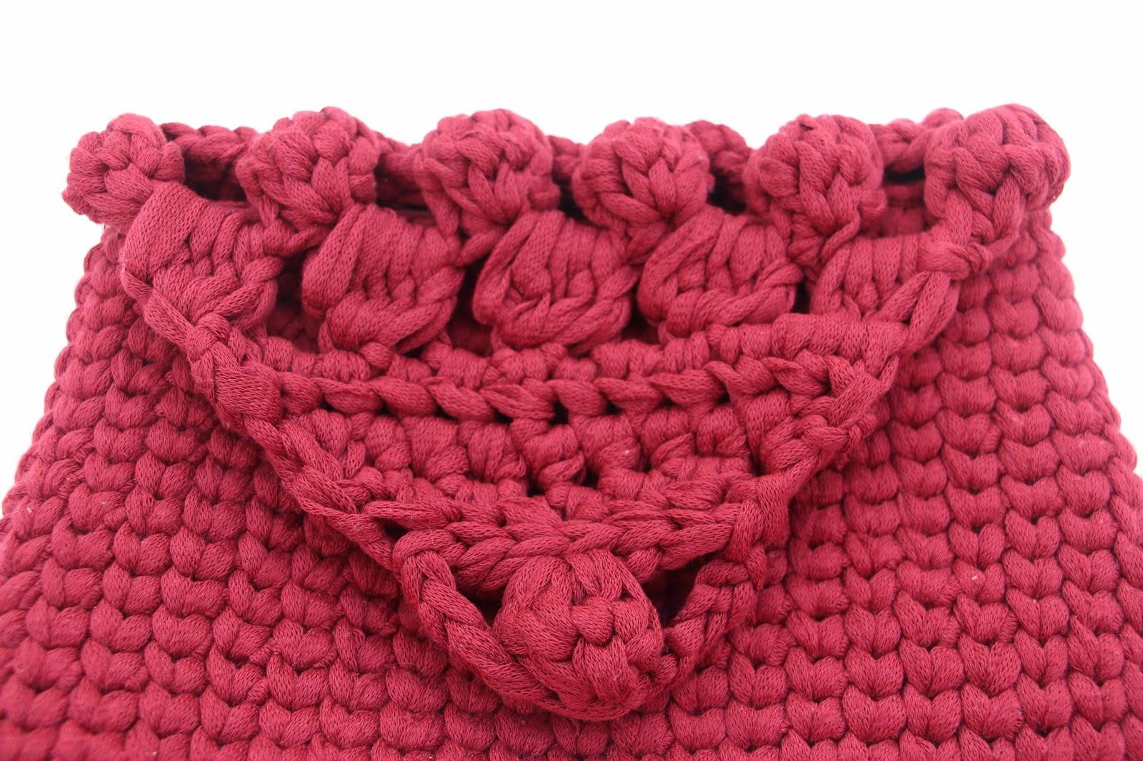 patron bolso crochet