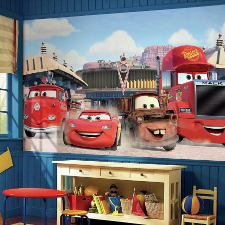 Cars Wall Mural Disney Kid Room Children