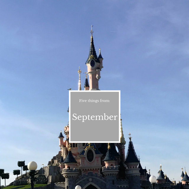 Five things from September