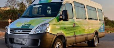 Iveco exibe veículos com tração elétrica e GNV na IAA 2018 em Hanover, Alemanha