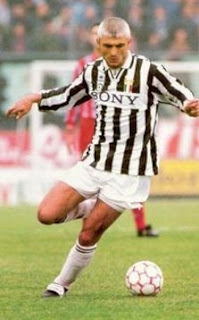 Fabrizio Ravanelli won five trophies in four years with Juventus