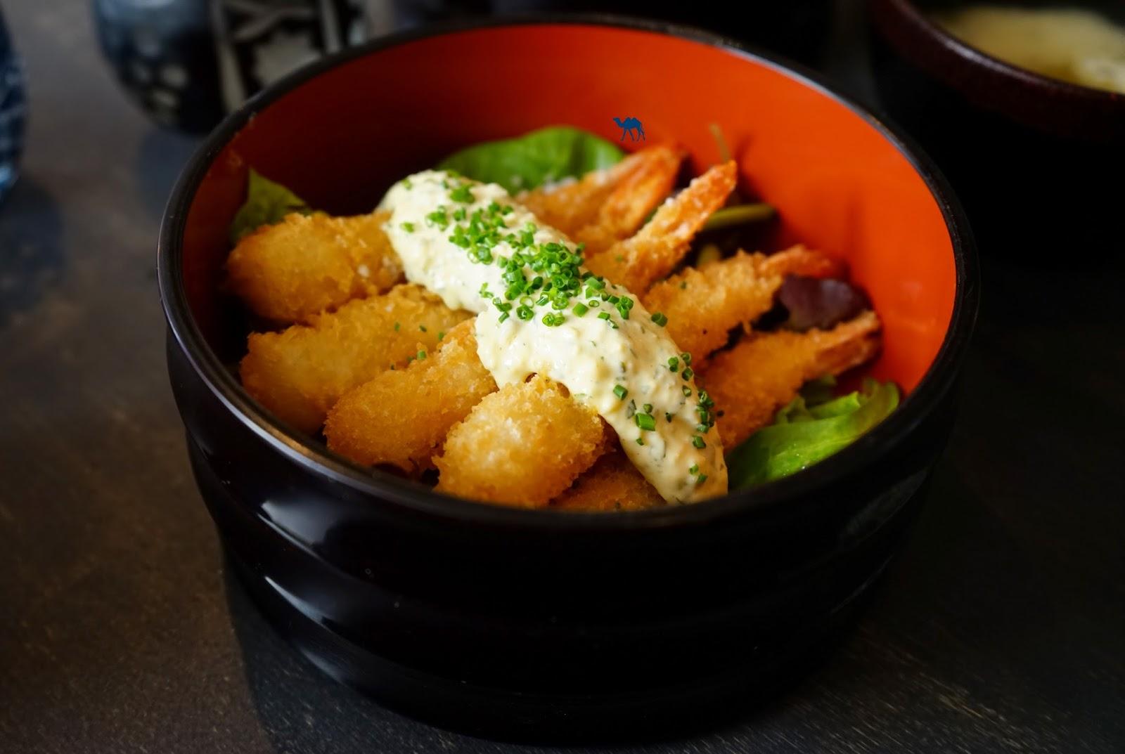 Restaurant Japonais langue Paris Ebi Fry - Le Chameau Bleu