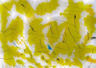 exhibición-de-pinturas en-diseños-abstractos diseños-modernos-pinturas