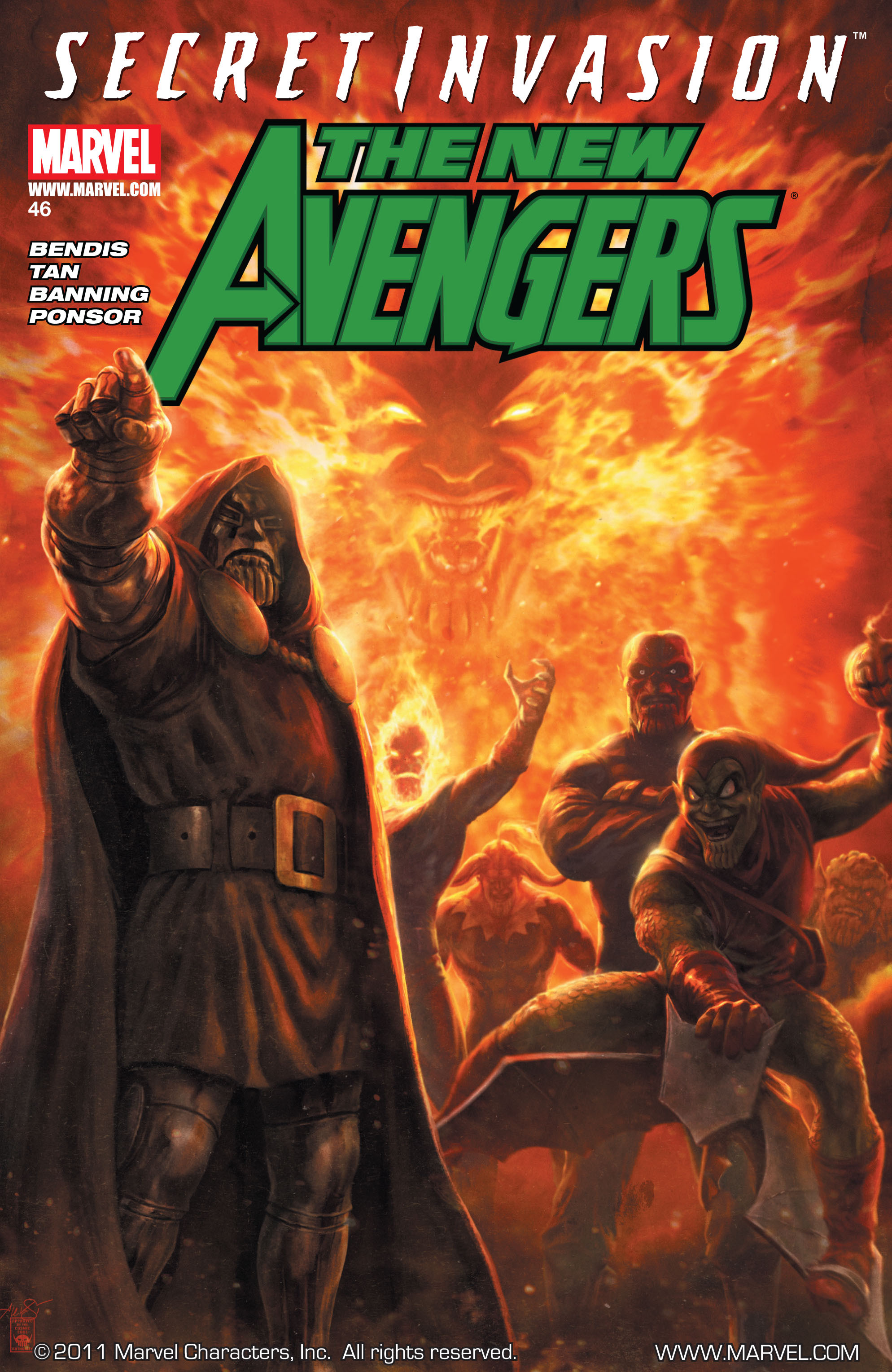 New Avengers (2005) issue 46 - Page 1