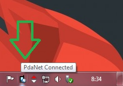 PdaNet Connected