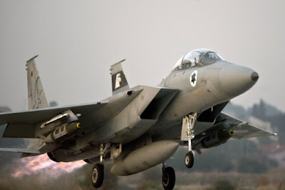 la proxima guerra f-15 israel ataque siria
