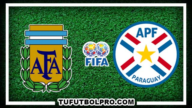 Ver Argentina vs Paraguay EN VIVO Gratis Por Internet Hoy 11 de Octubre 2016