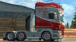 Eagle Strike paintjob for Scania RJL