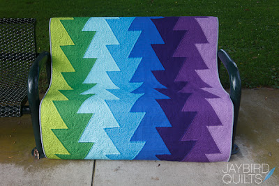 Northern Lights Jaybird Quilts