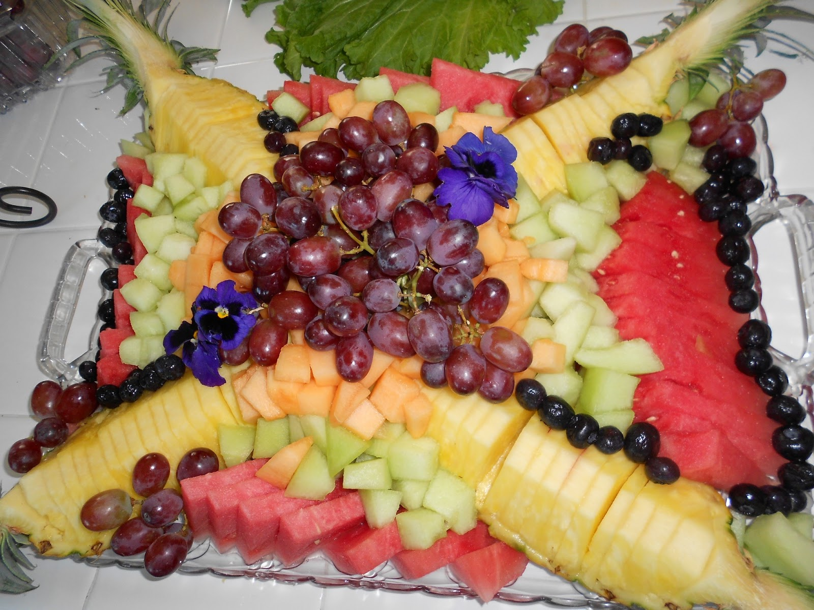 dinner salad fruit for thanksgiving Fruit A Quick Point Rock Manor: Platter