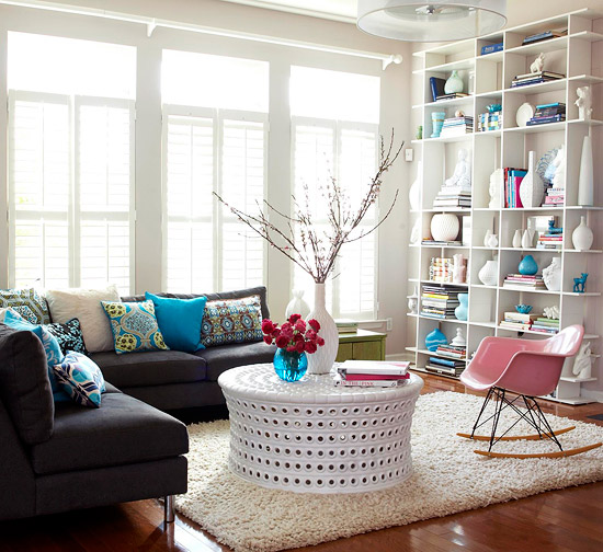 2013 Neutral Living Room Decorating Ideas From Bhg: Modern Furniture Design: 2013 Contemporary Living Room