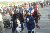 Jelang Idul Adha 1437 H, Pelabuhan Bira Mulai Penuh Penumpang Ke Selayar, Posko Dishub 24 Jam