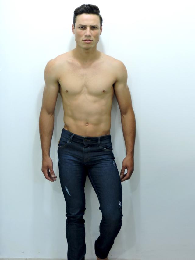 O modelo Hernane Prado foi eleito Mister Joinville 2018. Foto: Divulgação