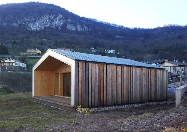 Casa in Legno rivestita in Legno