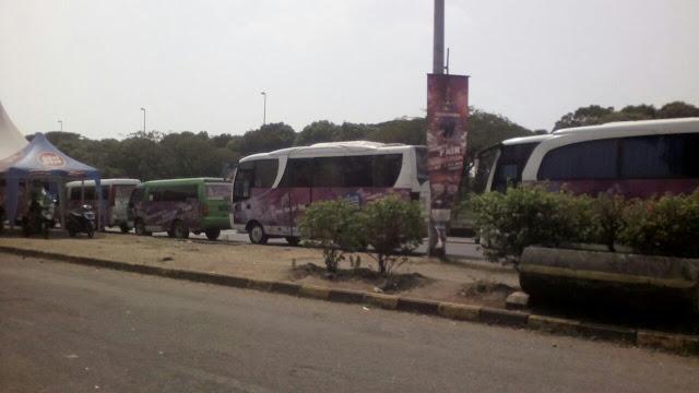 shuttle bus menuju jakarta fair