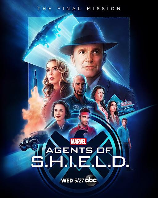 最後一季 Marvel《神盾局特工》 (Agents of S.H.I.E.L.D.)第二款宣傳海報