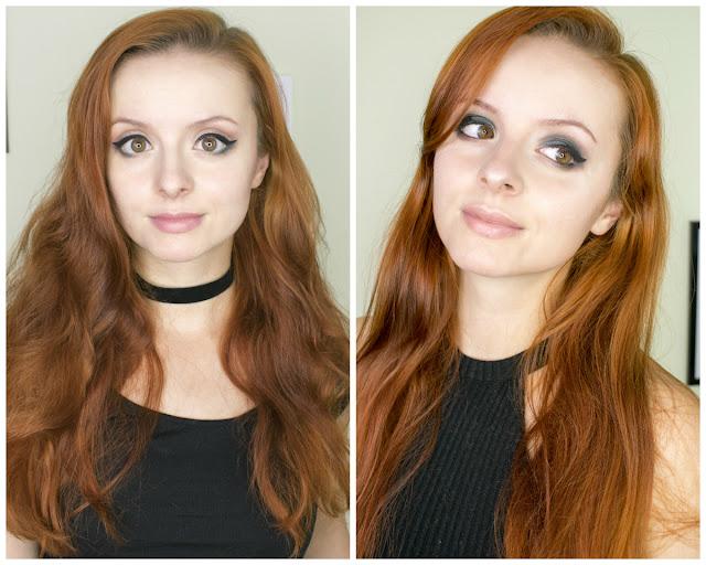[460.] Dwie propozycje makijażu z odrobiną butelkowej zieleni!