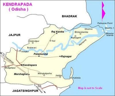 oriya hits kendrapada district map, orissa