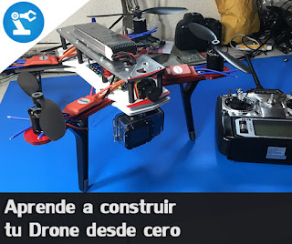 Construye tu propio quadcopter.