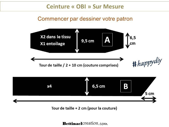 ... bettinael couture facile tuto gratuit cr25C325A9er son patron ceinture  large mouer avec lien diy fashion sewing e7e210e55aa