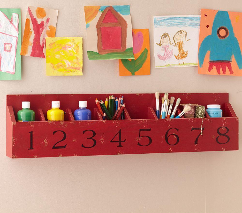 Cubby Wall Shelf Kitchen