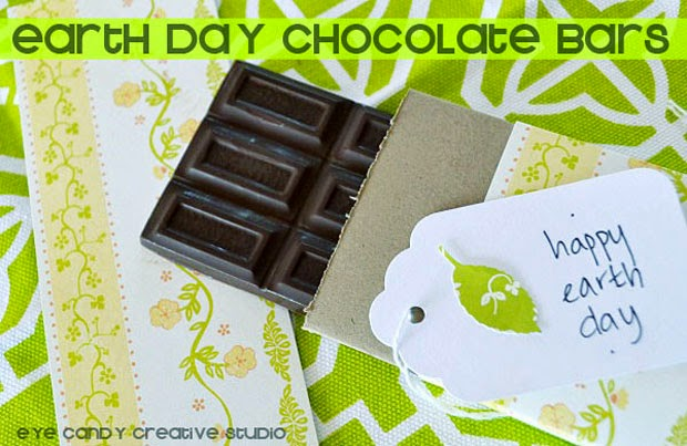 happy earth day, organic chocolate bars, recipe for chocolate bars