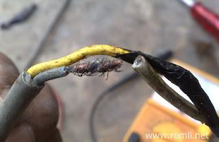 Cara cepat mengetahui letak kabel putus tanpa alat