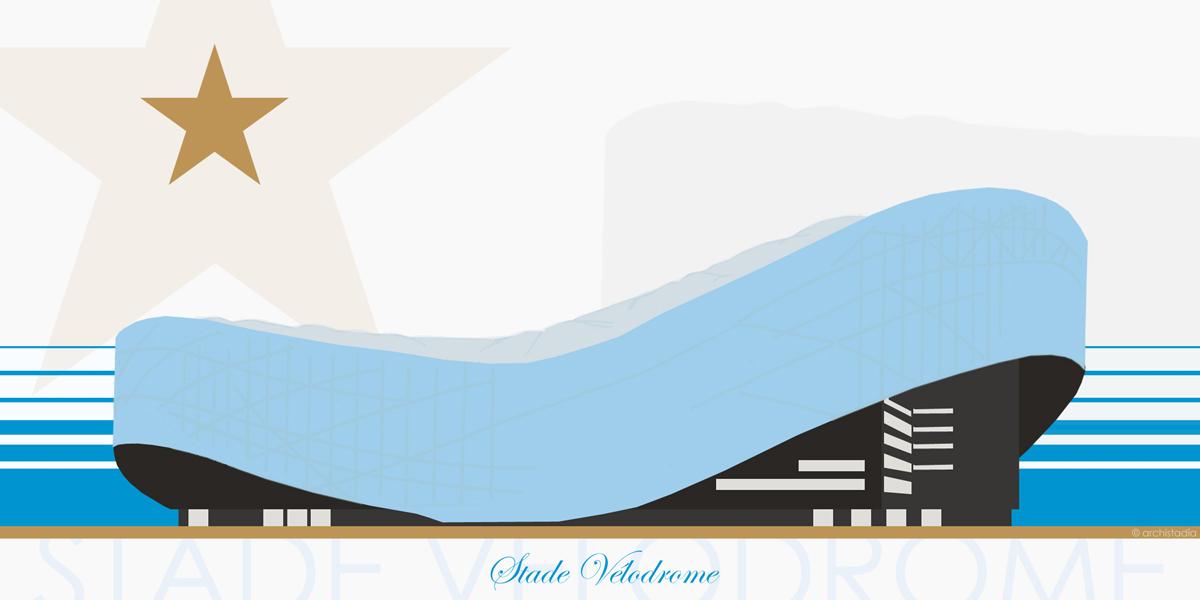 stadio velodrome marsiglia storia architettura