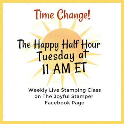 facebook live | stamping class | Nicole Steele The Joyful Stamper