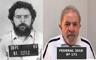 O elemento Lula vulgo 'brahma, barba ou 9 dedos' é condenado a nove anos e meio de cadeia