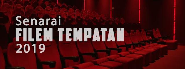 senarai filem tempatan 2019