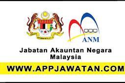 Jawatan Kosong Kerajaan 2017 di Jabatan Akauntan Negara Malaysia - 27 Ogos 2017