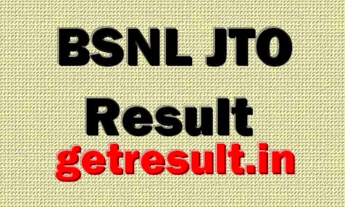 BSNL JTO Result 2014 Cut Off / Merit List
